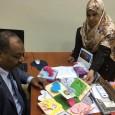 جانب من أنشطة طالبات المتقدم الثاني المرتبطة بالفهم القرائي تحت إشراف الأستاذة أمل إبراهيم مدرسة المستوى .